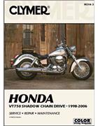 Honda VT750 Shadow Chain Drive 1998 - 2006 Clymer Owners Service & Repair Manual