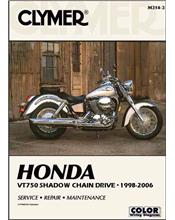 Honda VT750 Shadow Chain Drive 1998 - 2006 Clymer Owners Service & Repair Manual