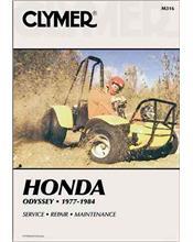 Honda Odyssey FL250 1977 - 1984 Clymer Owners Service & Repair Manual