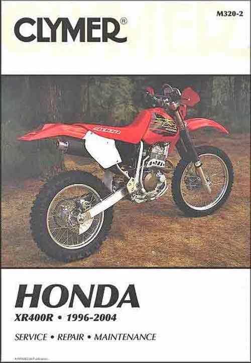 Honda XR400R 1996 - 2004 Clymer Owners Service & Repair Manual