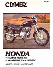 Honda Twinstar, Rebel 250 & Nighthawk 250, 1978 - 2003