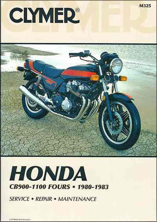 Honda CB900 CB1000 & CB1100 1980 - 1983 Clymer Owners Service & Repair Manual - Front Cover