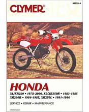 Honda XR200R, XL250, XR250, XL350 & XR350 1978 - 2000