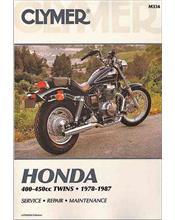 Honda CM400, CB400, CMX450 Rebel, CB450 Nighthawk, Hondamatic Twins 1978 - 1987
