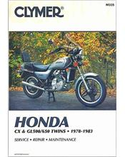 Honda CX500, CX650, GL500 & GL650 Silver Wing Twins 1978 - 1983