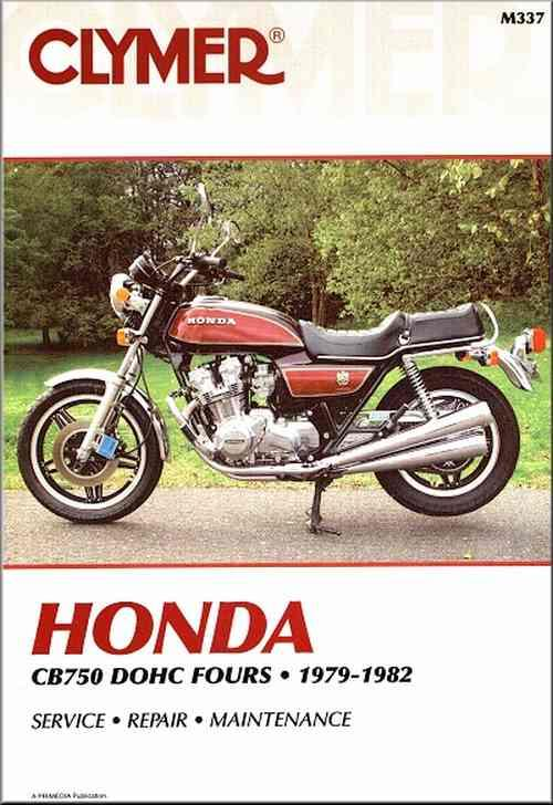 Honda CB750 DOHC 1979 - 1982 Clymer Owners Service & Repair Manual - Front Cover