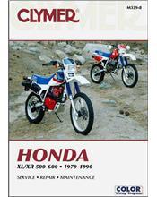 Honda XL500, XR500, XL600 & XR600 1979 - 1990