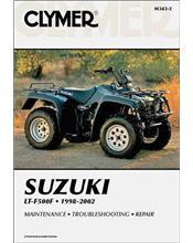 Suzuki LT-F500F Quadrunner 500 1998 - 2002 Clymer Owners Service & Repair Manual