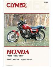 Honda VT500 Ascot, Shadow Euro1983 - 1988 Clymer Owners Service & Repair Manual