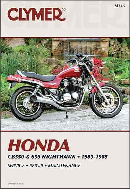 Honda CB550 & 650 1983 - 1985 Clymer Owners Service & Repair Manual - Front Cover