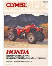 Honda TRX300 Fourtrax 300 & TRX300FW Fourtrax 300 4x4 ATV 1988 - 2000