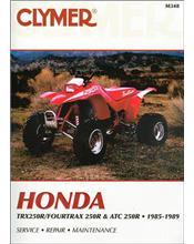 Honda TRX250R, Fourtrax 250R, ATC250R ATV 1985 - 1989