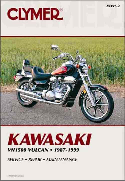 Kawasaki Vulcan 1500 1987 - 1999 Clymer Owners Service & Repair Manual