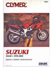Suzuki SV650, SV650S 1999 - 2002 Clymer Owners Service & Repair Manual