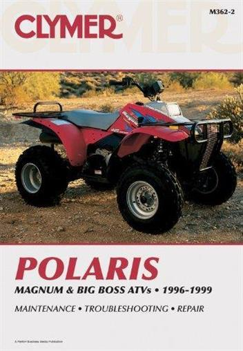 Polaris Magnum & Big Boss Atvs 1996 - 1999 Clymer Owners Service & Repair Manual - Front Cover