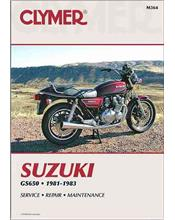 Suzuki GS650 Four 1981 - 1983 Clymer Owners Service & Repair Manual