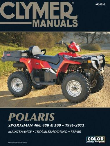 Polaris Sportsman 400, 450 & 500, 1996 - 2013