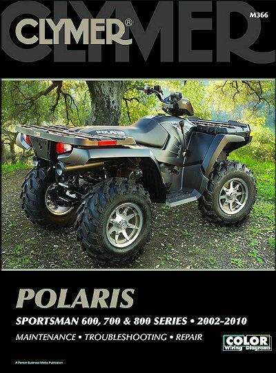 Polaris Sportsman 600, 700 & 800 2002 - 2010 - Front Cover