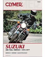 Suzuki GT380, GT550, GT750 Triple 1972 - 1977
