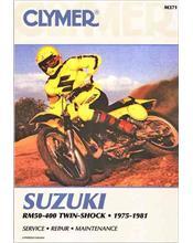 Suzuki RM50, RM60, RM80, RM100, RM125, RM250, RM370, RM400 1975 - 1981