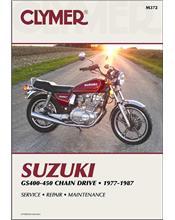 Suzuki GS400, GS425, GS450 Twin-Cylinder 1977 - 1987
