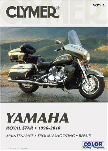 Yamaha Royal Star 1996 - 2010 Clymer Owners Service & Repair Manual - Front Cover