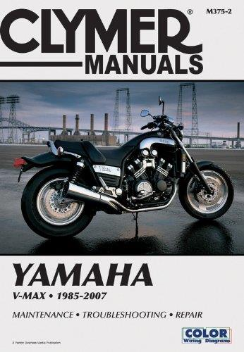 Yamaha V Max 1985 - 2007 Clymer Owners Service & Repair Manual