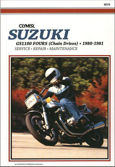 Suzuki GS1100 Fours (Chain Drives) 1980 - 1981 - Front Cover