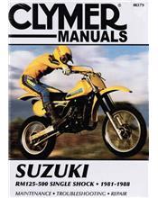 Suzuki RM125, RM250, RM465, RM500 1981 - 1988