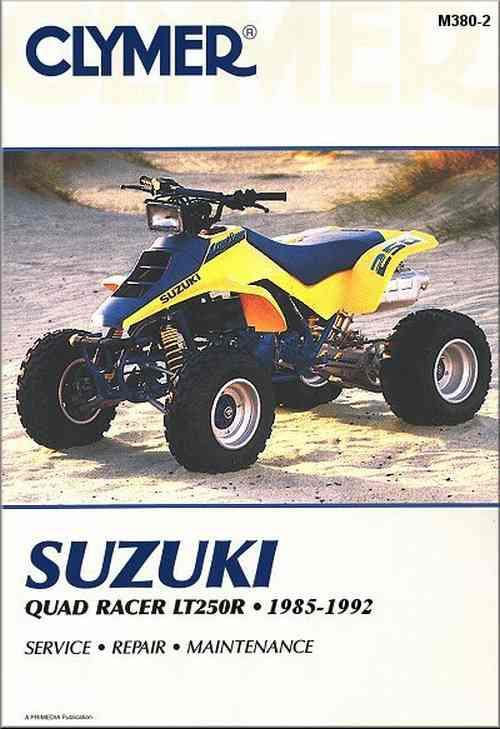 Suzuki QuadRacer LT250R 1985 - 1992 Clymer Owners Service & Repair Manual