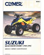 Suzuki QuadRacer LT250R 1985 - 1992 Clymer Owners Service & Repair Manual