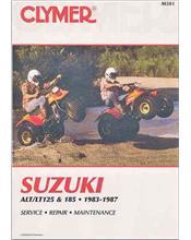 Suzuki ALT125, LT125, ALT185, LT185 1983 - 1987