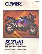 Suzuki Katana 600, GSXR750, GSXR750R, GSXR1100 1986 - 1996
