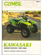 Kawasaki Mojave KSF250 1987 - 2004 Clymer Owners Service & Repair Manual
