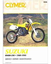 Suzuki RM80, RM125, RM250, RMX250 1989-1995 Clymer Owners Service Repair Manual