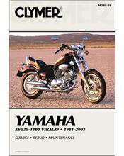 Yamaha XV535 - XV1100 Virago 1981 - 2003 Clymer Owners Service & Repair Manual