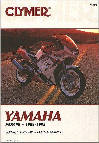 Yamaha FZR600 1989 - 1993 Clymer Owners Service & Repair Manual