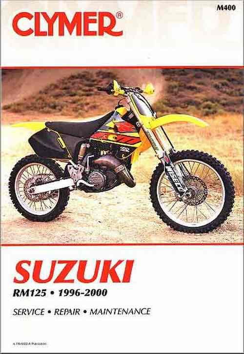 Suzuki RM125 1996 - 2000 Clymer Owners Service & Repair Manual