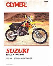 Suzuki RM125 1996 - 2000 Clymer Owners Service & Repair Manual