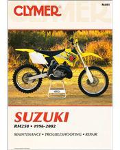 Suzuki RM250 1996 - 2002 Clymer Owners Service & Repair Manual
