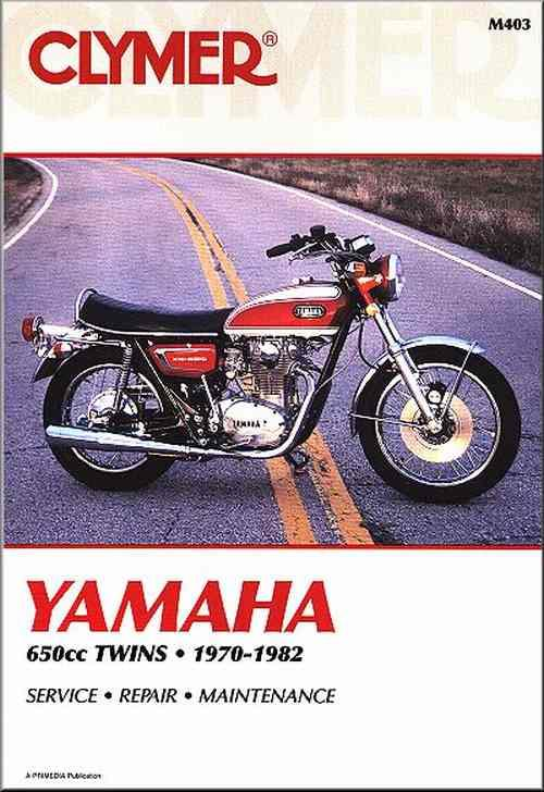 Yamaha 650 Twins, XS1, XS2, TX650 & XS650 1970 - 1982 - Front Cover