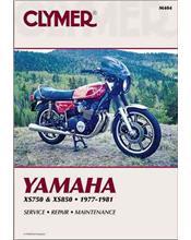 Yamaha XS750 & XS850 1977 - 1981 Clymer Owners Service & Repair Manual