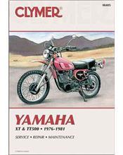 Yamaha XT500 & TT500 1976 - 1981 Clymer Owners Service & Repair Manual
