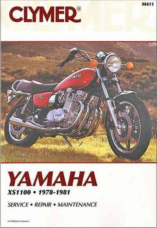 Yamaha XS1100 Fours 1978 - 1981 Clymer Owners Service & Repair Manual