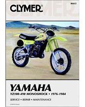 Yamaha YZ100, YZ125, YZ175, YZ250, YZ400, YZ465, YZ490 Monoshock 1976 - 1984