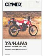 Yamaha XT600 & TT600 1983 - 1989 Clymer Owners Service & Repair Manual