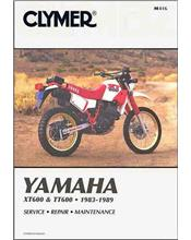 Yamaha XT600 & TT600 1983 - 1989 Clymer Owners Service & Repair Manual