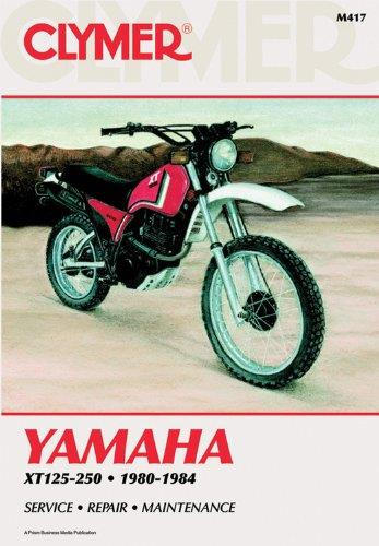 Yamaha XT125, XT200 & XT250 1980 - 1984 Clymer Owners Service & Repair Manual