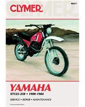 Yamaha XT125, XT200 & XT250 1980 - 1984 Clymer Owners Service & Repair Manual