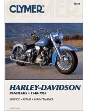 Harley-Davidson Panheads 1948 - 1965 Clymer Owners Service & Repair Manual